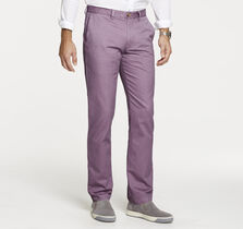 Slim Fit Garment-Washed Chinos