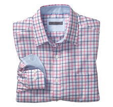 Tailored Fit Shadow Windowpane Shirt