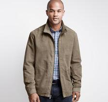 Micro Suede Perf Jacket
