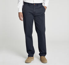 Regular Fit Garment-Washed Chinos