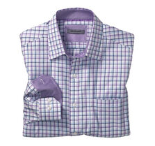 Tailored Fit Shadow Windowpane Shirt