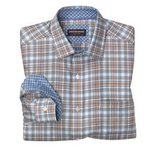 Multi-Rope Twill Plaid Shirt