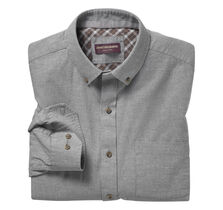 Heather Brushed Twill Shirt