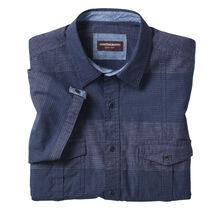 Tonal Denim Double-Pocket Shirt