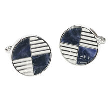 Quartered Round Cufflinks