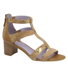 Kallie Back-Zip Sandal
