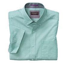Mirror Triangle Short-Sleeve Shirt