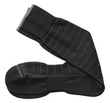 First In Comfort Contrast Windowpane Socks