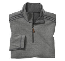 Reversible Birdseye Quarter-Zip