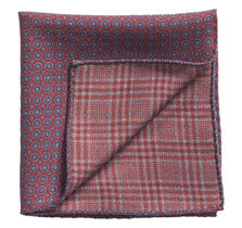Medallion Plaid Pocket Square