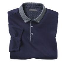 Print Collar Polo