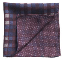 Gingham Dot Pocket Square