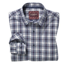 Melange Windowpane Shirt