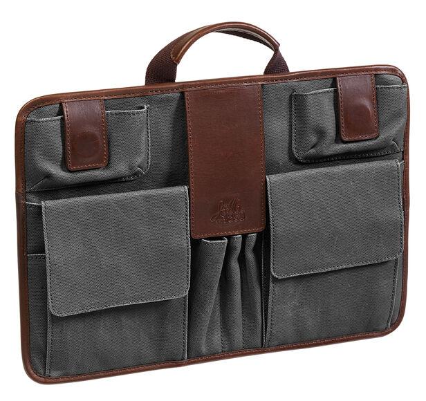 Est. 1850 Canvas Briefcase Organizer