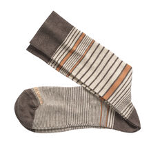 Cotton-Blend Heathered Socks