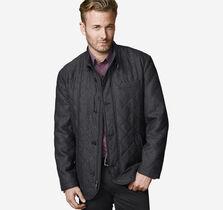 Quilted Herringbone Jacket