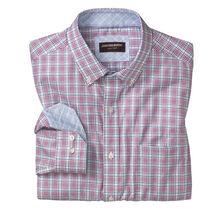 Triple Line Check Button-Down Collar Shirt