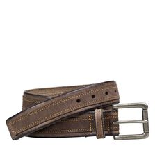 Distressed Overlay Belt