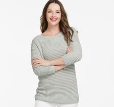 Shadow-Stripe Sweater