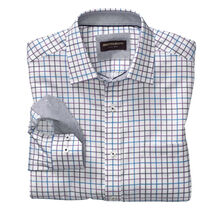 Alternating Grid Check Shirt