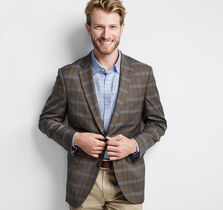 Cafe Windowpane Blazer