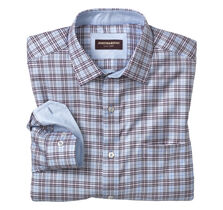 Quad Stripe Windowpane Shirt