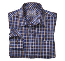 Tailored Fit Two-Tone Checkerboard Shirt