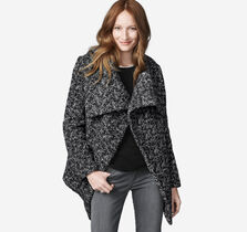 Textured Asymmetrical Jacket