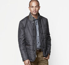 Convertible Quilted Blazer