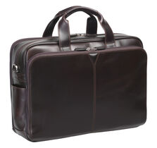 Double-Zip Briefcase