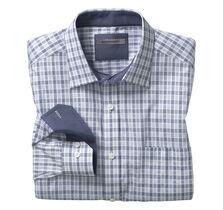 Tonal Raised Check Shirt