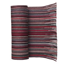 Striped Wool Knit Scarves