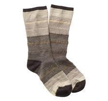 Mixed Pattern Crew Socks