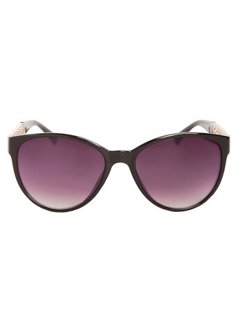 Chain Detail Wayfarer Sunglasses