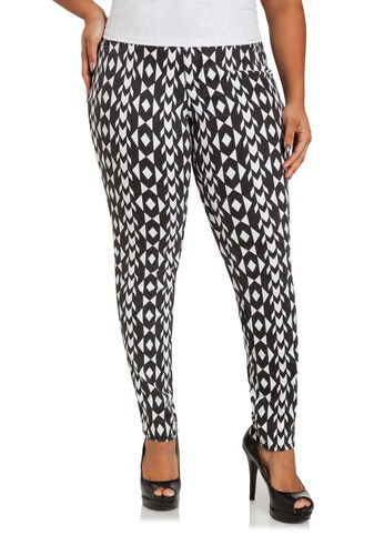 Geo Print Jeggings