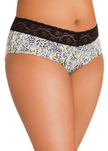 Animal Print Cotton Briefs