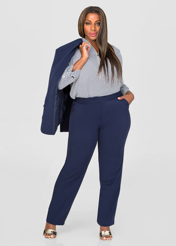 The Power Pant - Tall Extended Sizes Peacoat - Jeans