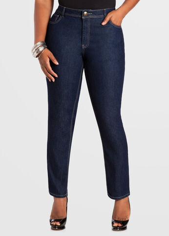 Tall Indigo Skinny 5-Pocket Denim