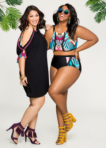 Vacation Ready Besties Plus Size Outfit