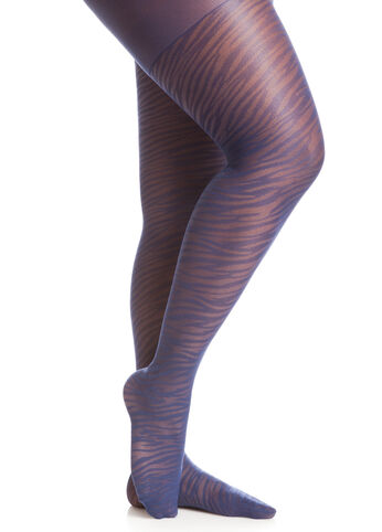 Zebra Stripe Tights