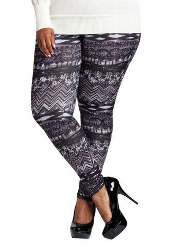 Pattern Print Legging