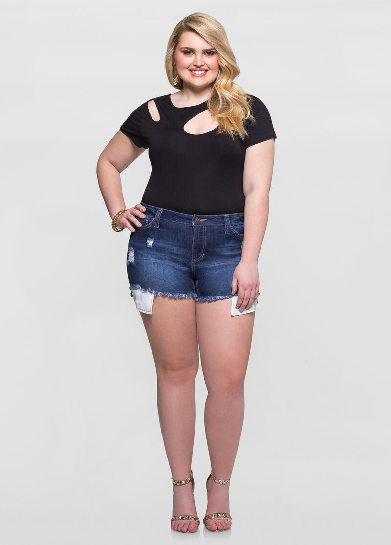 Enjoy the warm weather in a great pair of plus size shorts or capris in a large variety of eye-catching styles, colors and sizes up to 6X.