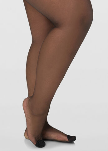 Berkshire Reinforced Toe Control Top Ultra Sheer Pantyhose