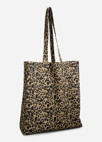 Queen of the Jungle Canvas Tote