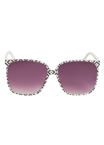 Crackle Rim Sunglasses