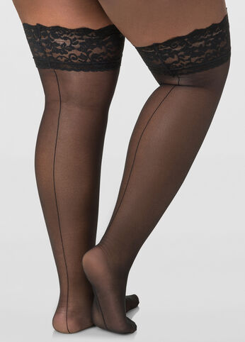 Berkshire Back Seam Thigh High