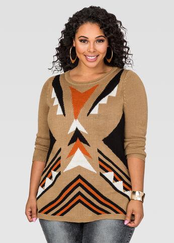 Hi-Lo Side Slit Sweater
