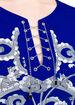 Chain Lace-Up Dress