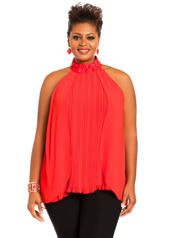 Pleated Stone Top