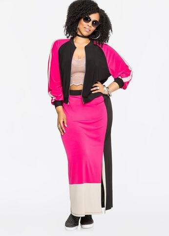 Colorblock Diva Plus Size Outfit